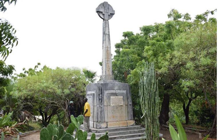 Johann Ludwig Krapf Monument of Mkomani