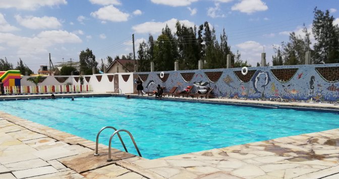 Rosewall Oasis Swimming pool | Swimming in Kenya