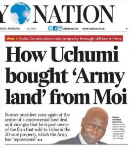 Moi's Land Grabbing exposed